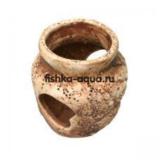 Керамическая декорация для аквариума - Вазочка